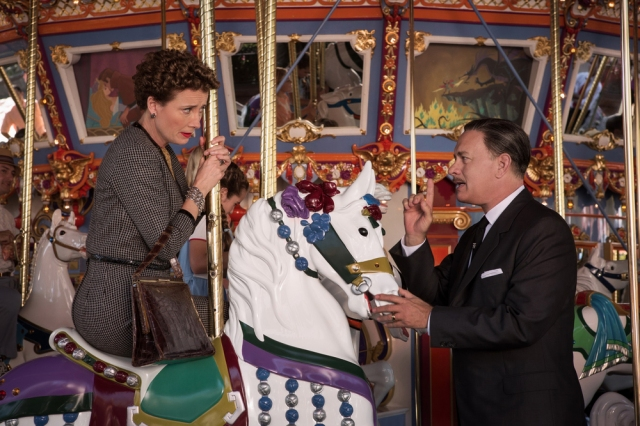 The carousel scene from Saving Mr. Banks