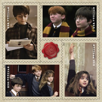 USPS Harry Potter stamps, subset