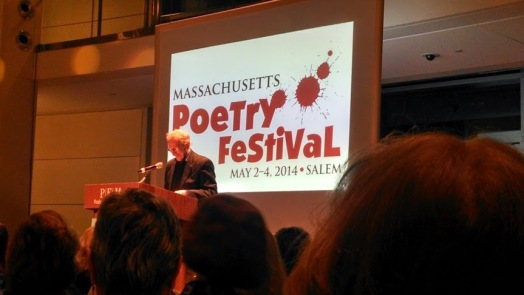 Phillip Levine at Mass Poetry Fest 2014