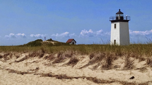 I can feel my heart slow down and the corners of my mouth lift every time I look at this picture from last summer on Cape Cod.