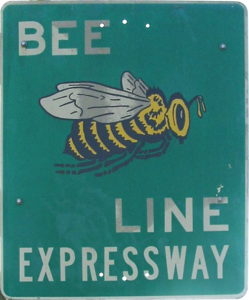 "Zip right on over and check it out!  ""Bee Line logo"" by SPUI at Wikimedia Commons"